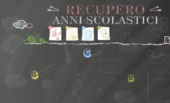 Recupero Anni Scolastici