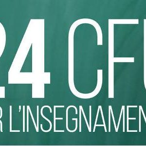 CORSO DOCENTI 2017/2018 – 24 CFU + MASTER