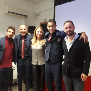 Istituto Pareto sponsor US Salernitana 1919
