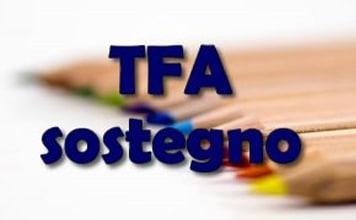 Preparazione TFA Sostegno 2019