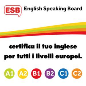 Certificazione inglese ESB Istituto Pareto Livello B2