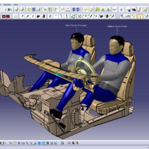 Disegno industriale progettazione meccanica Catia V5 Pareto Salerno