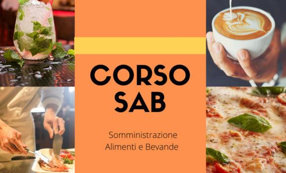 Corso SAB Somministrazione Alimenti e Bevande (ex REC) Pareto